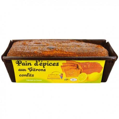 Pain d'épices aux citrons confits
