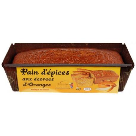 Pain d'épices aux écorces d'orange 225 g