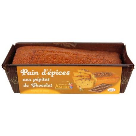 Pain d'épices aux pépites de chocolat 225 g