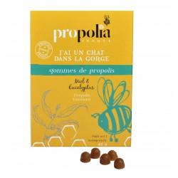 Gommes de Propolis Miel et Eucalyptus