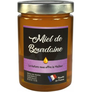 Miel de Bourdaine 750 g
