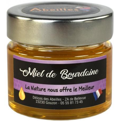 Miel de Bourdaine 125g