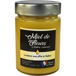 Miel de fleurs texture crémeuse 400g