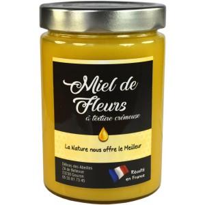 Miel de fleurs texture crémeuse 750g