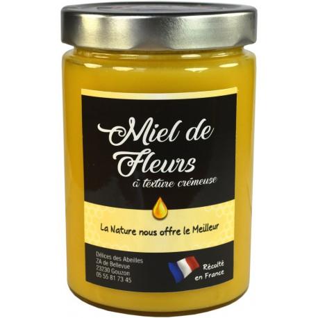 Miel de fleurs crémeux 750 g