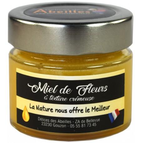Miel de fleurs texture crémeuse 125g