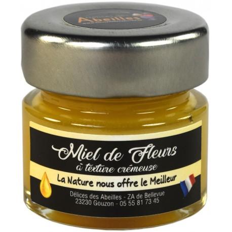 Miel de fleurs texture crémeuse 50g