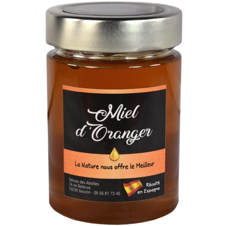 Miel d'Oranger 400g