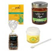 Assortiment Apitherapie Miel de Thym, Gelee Royale, Bonbons Miel, Gommes Propolis