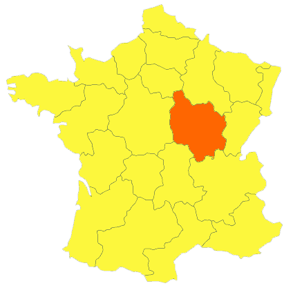 Miel francais récolté dans la région Bourgogne