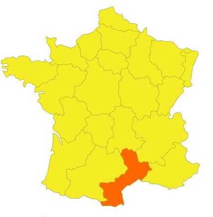 Fabriqué en France dans l'Herault, région Languedoc Roussillon