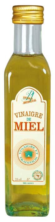 Vinaigre de miel nature - Vinaigre et tradition